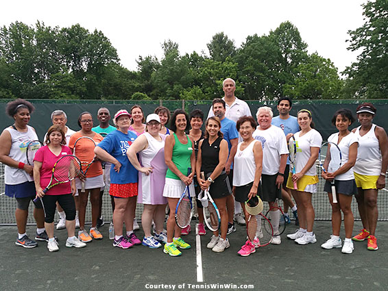 group photo mcta tennis winwin welcome summer tennis social 2016