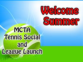 photo MCTA and Tennis WinWin Welcome Summer tennis social June 4, 2016