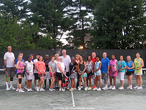 group photo mcta and tennis winwin spring fever tennis social and league launch 2016