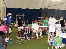 photo Montgomery TennisPlex and Tennis Winwin 2016 Racquets and Rockets tennis and fireworks 4th of July party