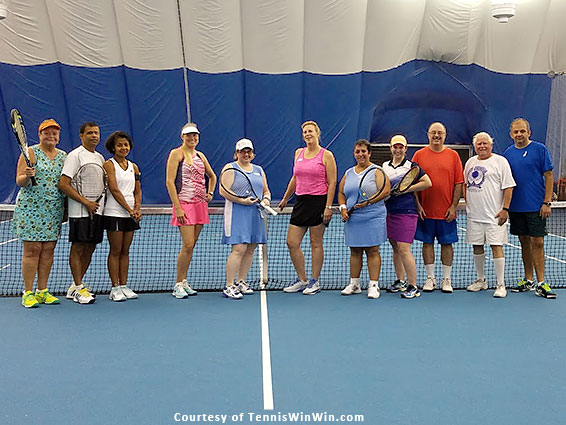group photo mcta and tennis winwin welcome fall fever tennis social and league launch 2016